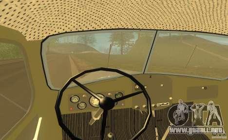 ZIL 164 Tractor para vista lateral GTA San Andreas
