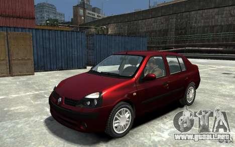 Renault Clio 1.4L para GTA 4
