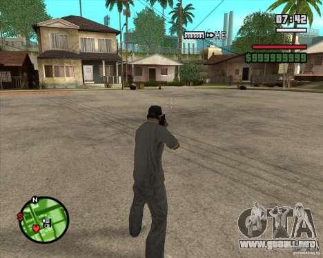 Campanas y silbatos para armas para GTA San Andreas