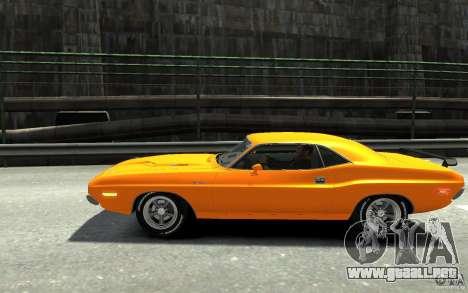 Dodge Challenger R/T Hemi 1970 para GTA 4 left