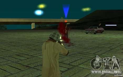 Mutant para GTA San Andreas sucesivamente de pantalla