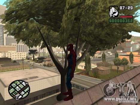 Spider Man From Movie para GTA San Andreas octavo de pantalla