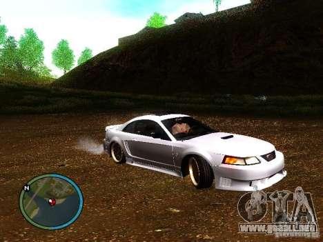 Saleen S281 para la visión correcta GTA San Andreas