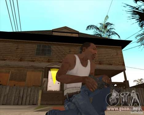 CoD:MW2 weapon pack para GTA San Andreas twelth pantalla