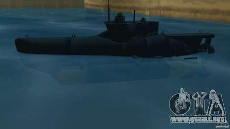 Seehund Midget Submarine skin 2 para GTA Vice City left