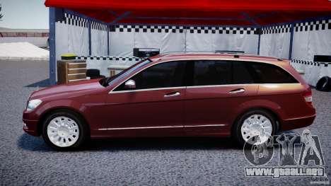 Mercedes-Benz C 280 T-Modell/Estate para GTA 4 left
