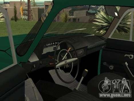 IZH 27151 PickUp para GTA San Andreas vista hacia atrás