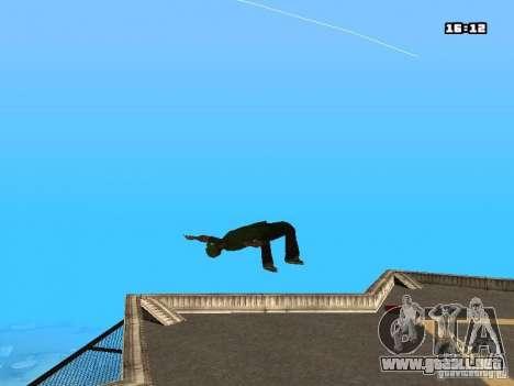Parkour Mod para GTA San Andreas décimo de pantalla