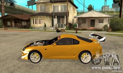 Toyota Supra D1GP para GTA San Andreas left