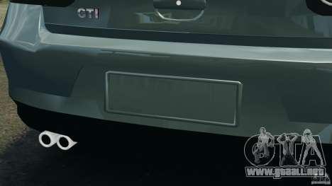 Volkswagen Golf Sportline 2011 para GTA 4 interior