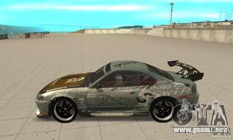 Nissan Silvia S15 [F&F3] para GTA San Andreas left