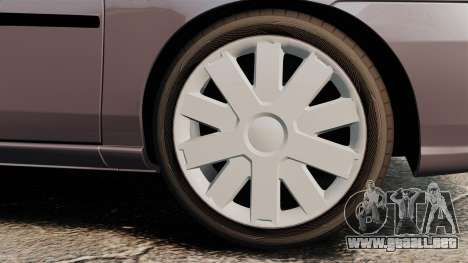 Suzuki Liana GLX 2002 para GTA 4 visión correcta