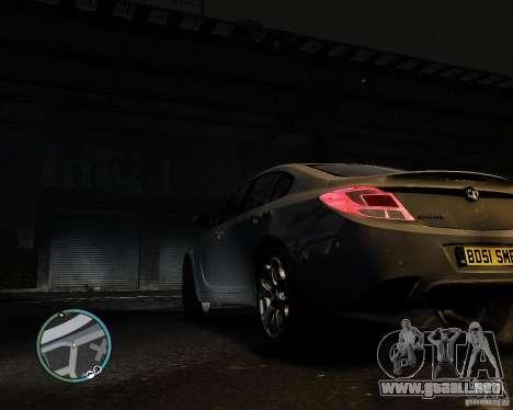 Vauxhall Insignia v1.0 para GTA 4 left