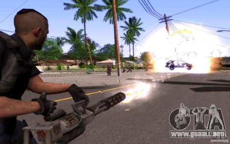 4 Un Mctavish (Brasil) para GTA San Andreas sucesivamente de pantalla