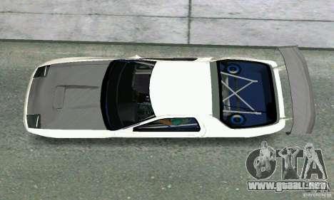 Mazda Savanna RX-7 FC3S para GTA Vice City visión correcta
