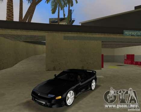 Mitsubishi 3000 GT 1993 para GTA Vice City vista posterior
