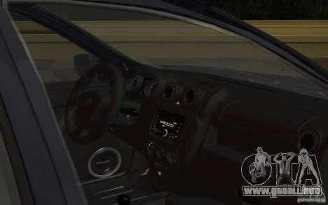 Lada Granta Stock para visión interna GTA San Andreas