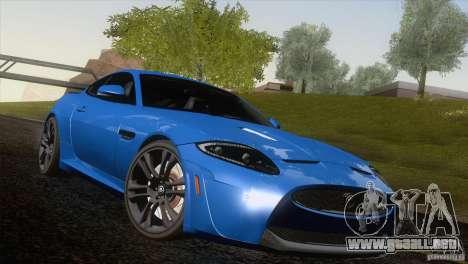 Jaguar XKR-S 2011 V1.0 para el motor de GTA San Andreas
