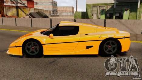 Ferrari F50 GT 1996 para GTA 4 left