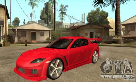 Mazda RX8 Slipknot Style para GTA San Andreas