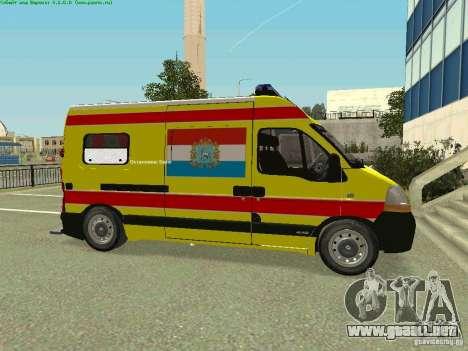 Renault Master rápido Samara para GTA San Andreas left