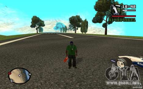 High-speed line para GTA San Andreas segunda pantalla