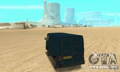 Mercedes-Benz MB100 para GTA San Andreas left