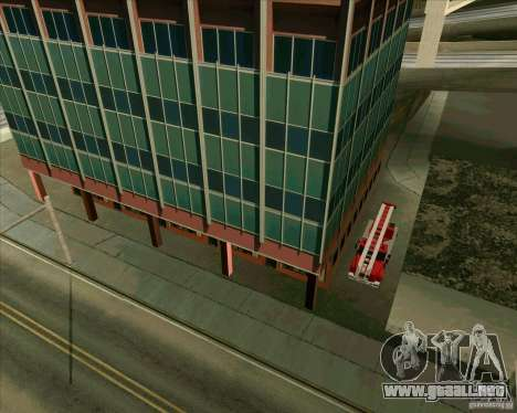 Los vehículos estacionados v2.0 para GTA San Andreas sucesivamente de pantalla