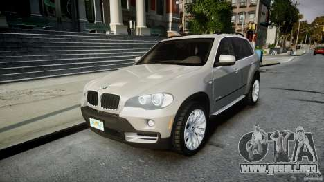 BMW X5 Experience Version 2009 Wheels 223M para GTA 4