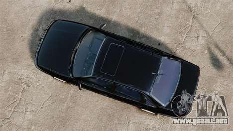 Volkswagen Passat B4 para GTA 4 visión correcta