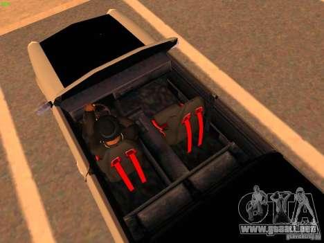 New Perennial para visión interna GTA San Andreas