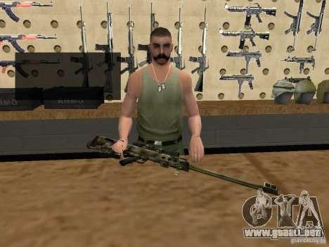 M95 Barrett Sniper para GTA San Andreas