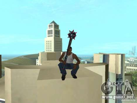 Weapons Pack para GTA San Andreas tercera pantalla
