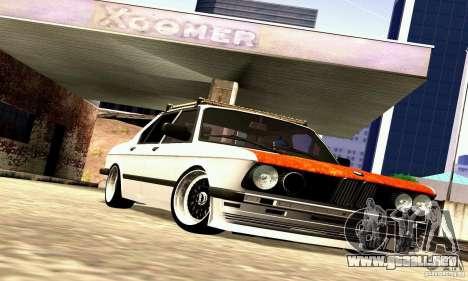 BMW E28 525e RatStyle No1 para visión interna GTA San Andreas
