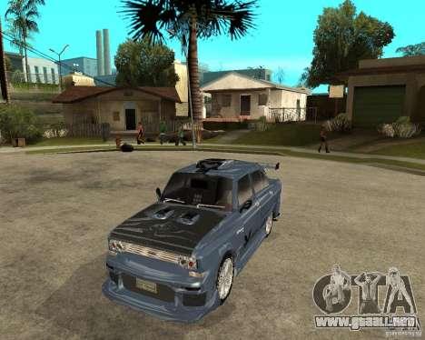 AZLK 2140 afinado SX para GTA San Andreas