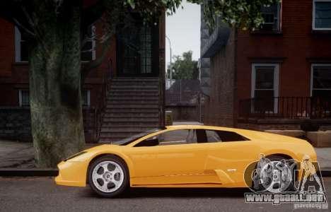 Lamborghini Murcielago para GTA 4 Vista posterior izquierda