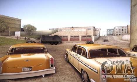 Cabbie HD para la visión correcta GTA San Andreas