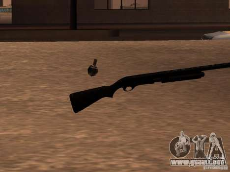 Remington 870 Action Express para GTA San Andreas segunda pantalla