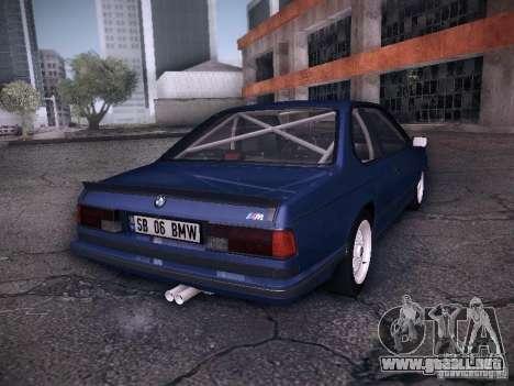 BMW E24 M635CSi 1984 para GTA San Andreas left