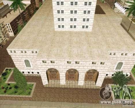 Los Santos City Hall para GTA San Andreas segunda pantalla