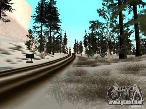 Invierno para GTA San Andreas octavo de pantalla