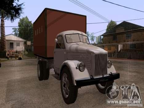 GAZ 51 pan para GTA San Andreas