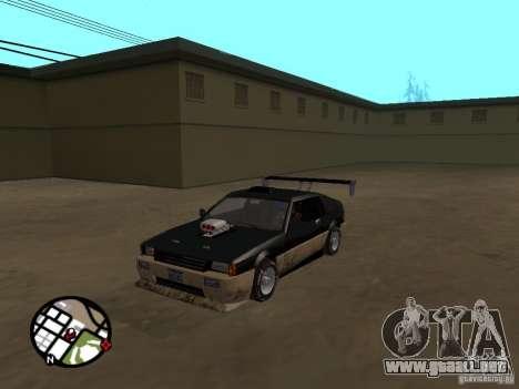 Nuevas piezas para tuning para GTA San Andreas sucesivamente de pantalla