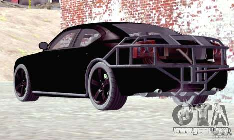 Dodge Charger Fast Five para GTA San Andreas left