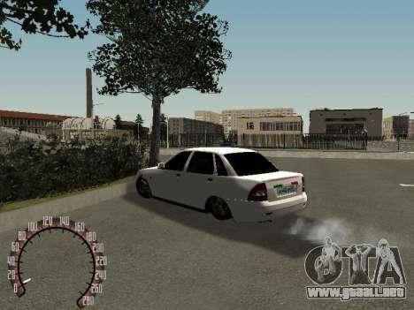 VAZ Lada Priora 2170 para la visión correcta GTA San Andreas