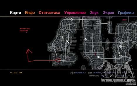 La ruta para los perezosos para GTA 4 quinta pantalla