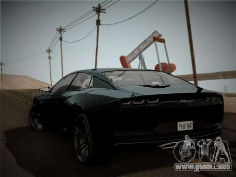 Lamborghini Estoque Concept 2008 para la visión correcta GTA San Andreas