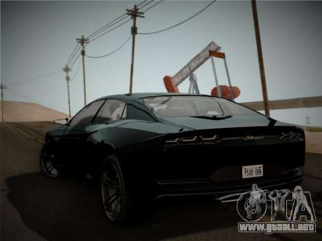 Lamborghini Estoque Concept 2008 para GTA San Andreas