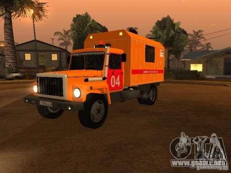 Gaz 3309; para GTA San Andreas