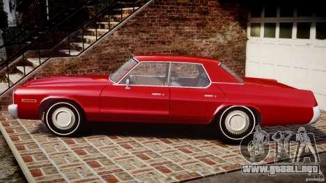 Dodge Monaco 1974 para GTA 4 left